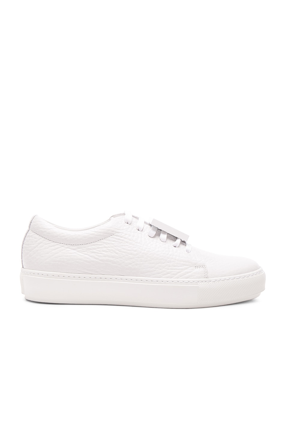 Image 1 of Acne Studios Leather Adriana Sneakers in White