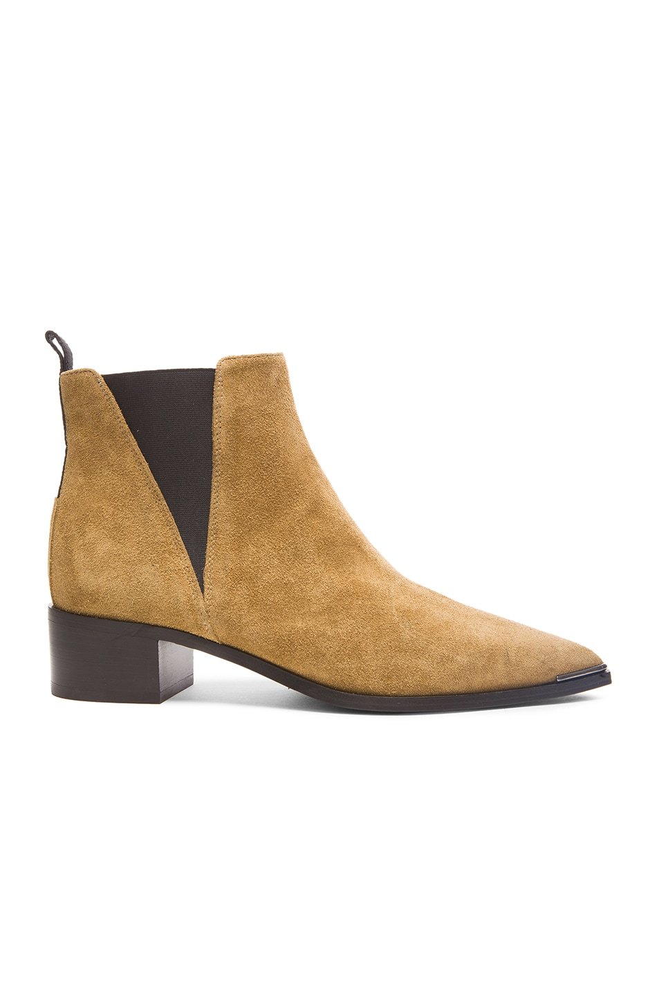 Image 1 of Acne Studios Suede Jensen Boots in Dark Sand