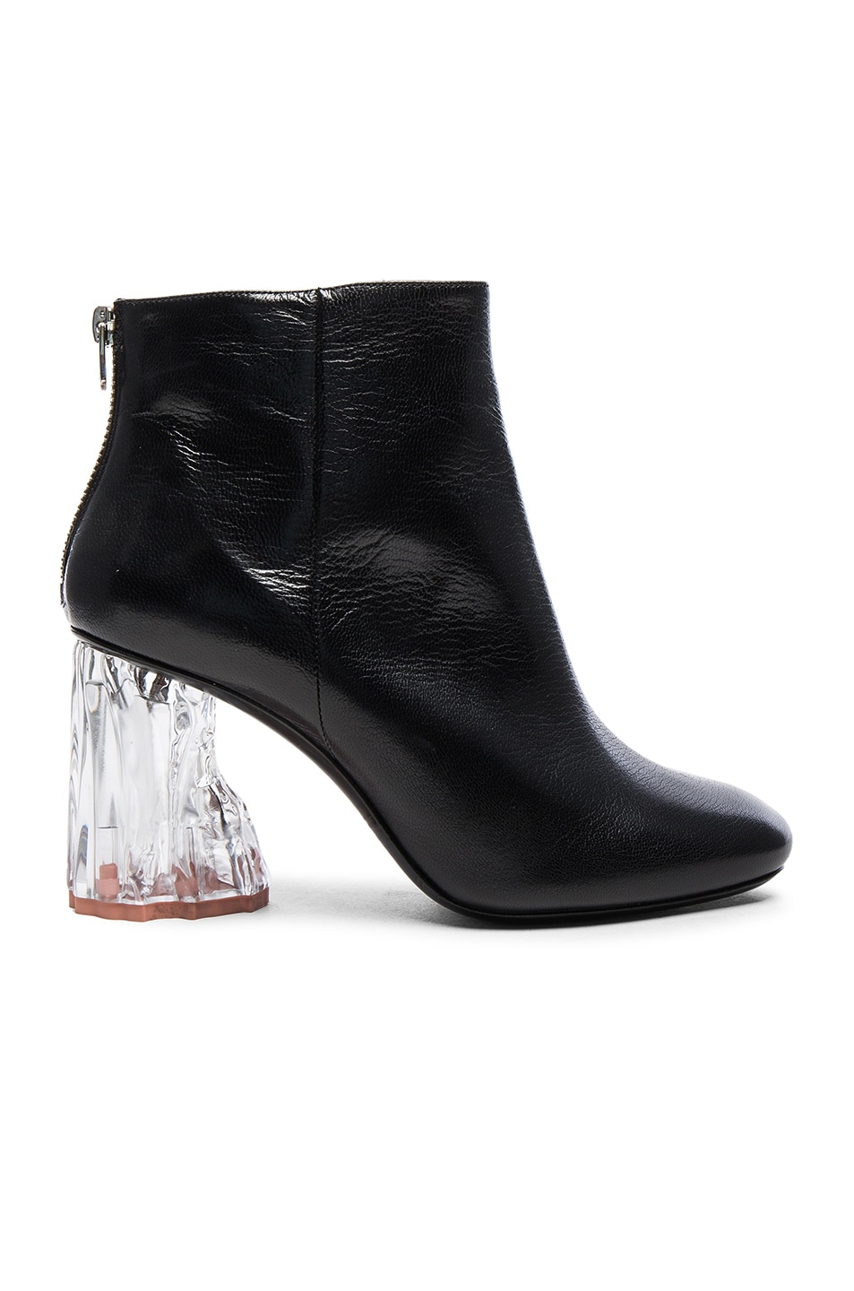 Image 1 of Acne Studios Ora Glass Booties in Black