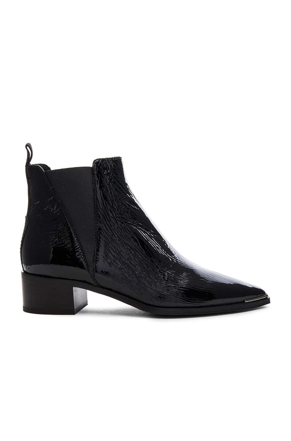 Image 1 of Acne Studios Patent Leather Jensen Booties in Black