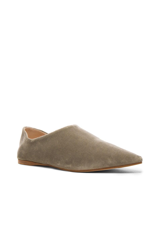 Amina velvet babouche slippers Acne Studios T0ZUAqL3