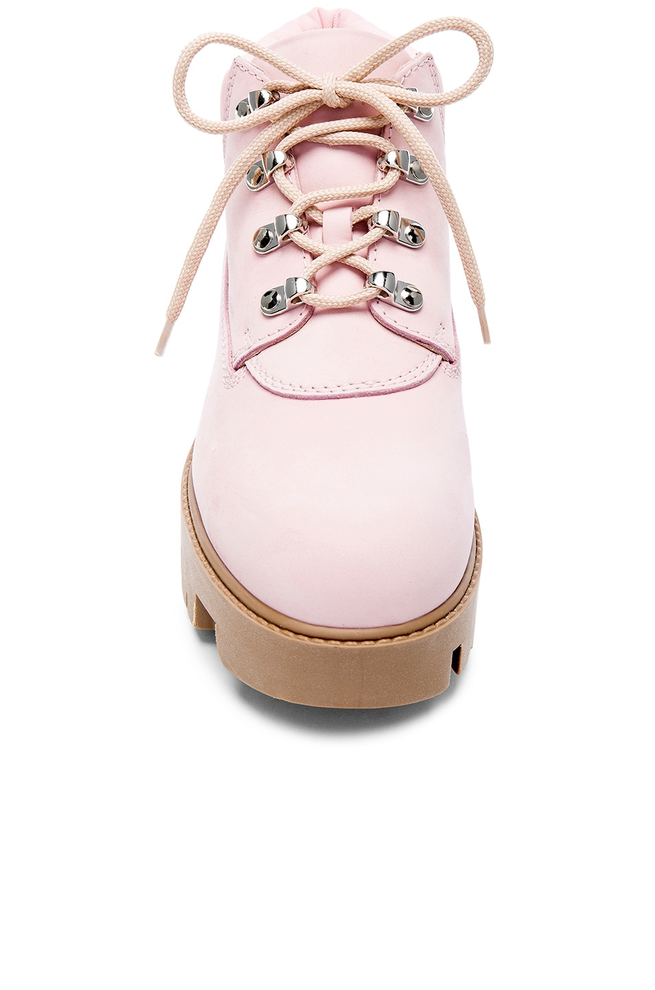 Image 4 of Acne Studios Leather Tinne Boots in Pink