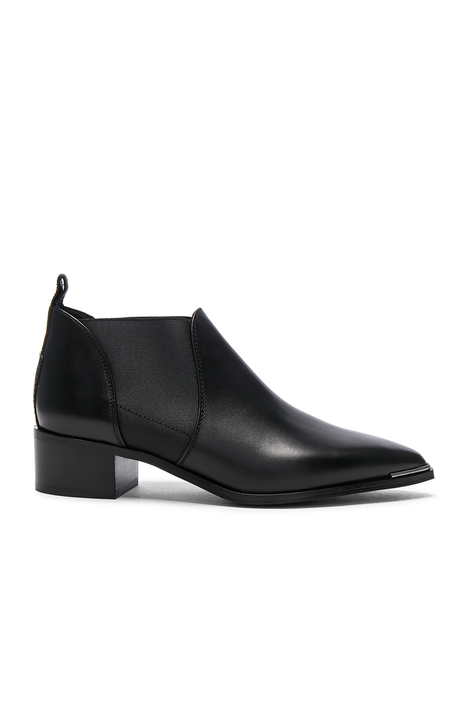 ebc046a10ed0 Image 1 of Acne Studios Leather Jenny Booties in Black