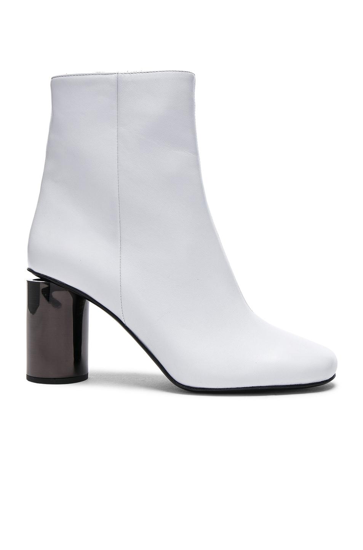 6834e993c6da2 Image 1 of Acne Studios Leather Allis Boots in White   Black