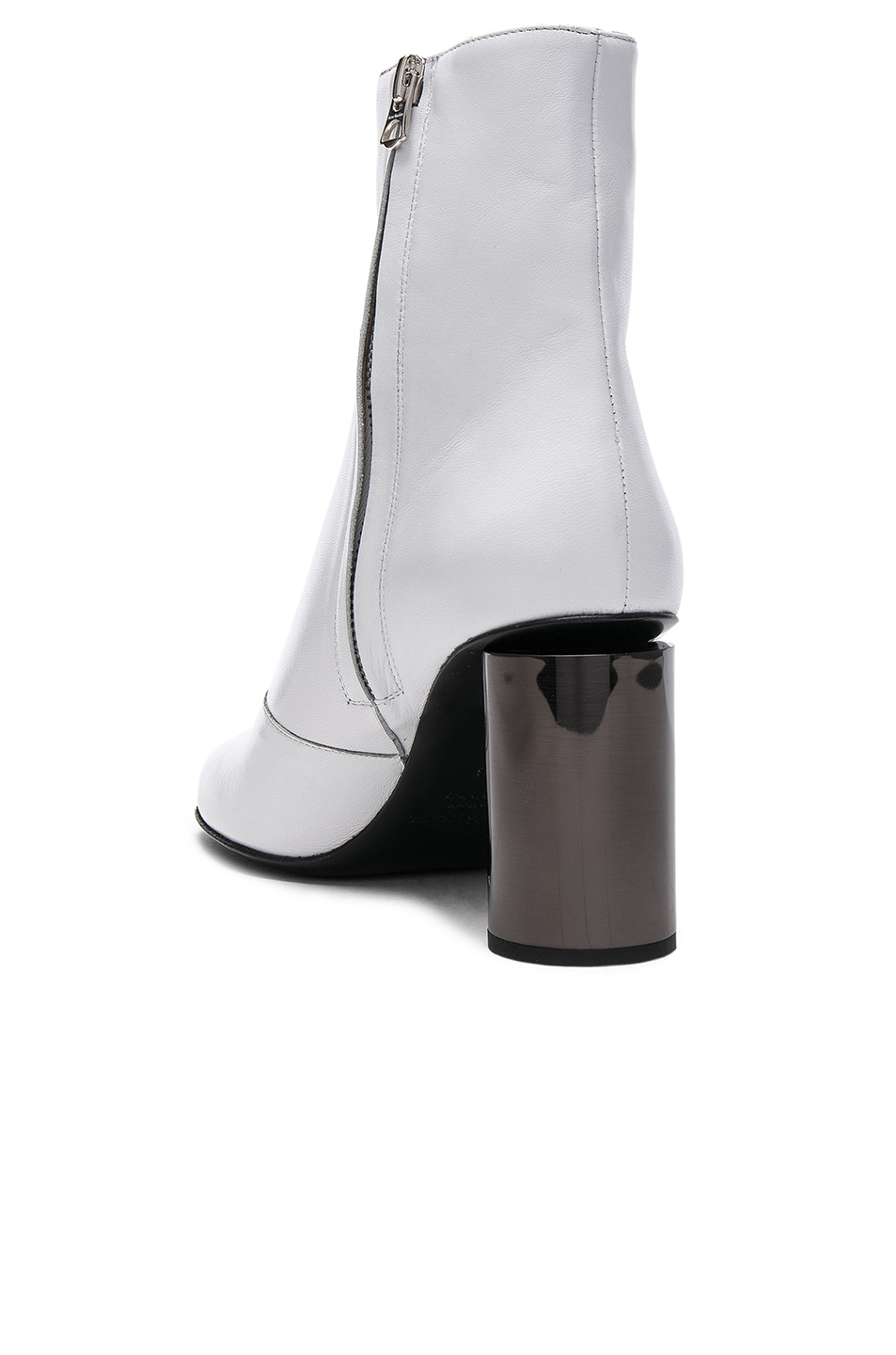 62be8316dd2e3 Image 3 of Acne Studios Leather Allis Boots in White   Black