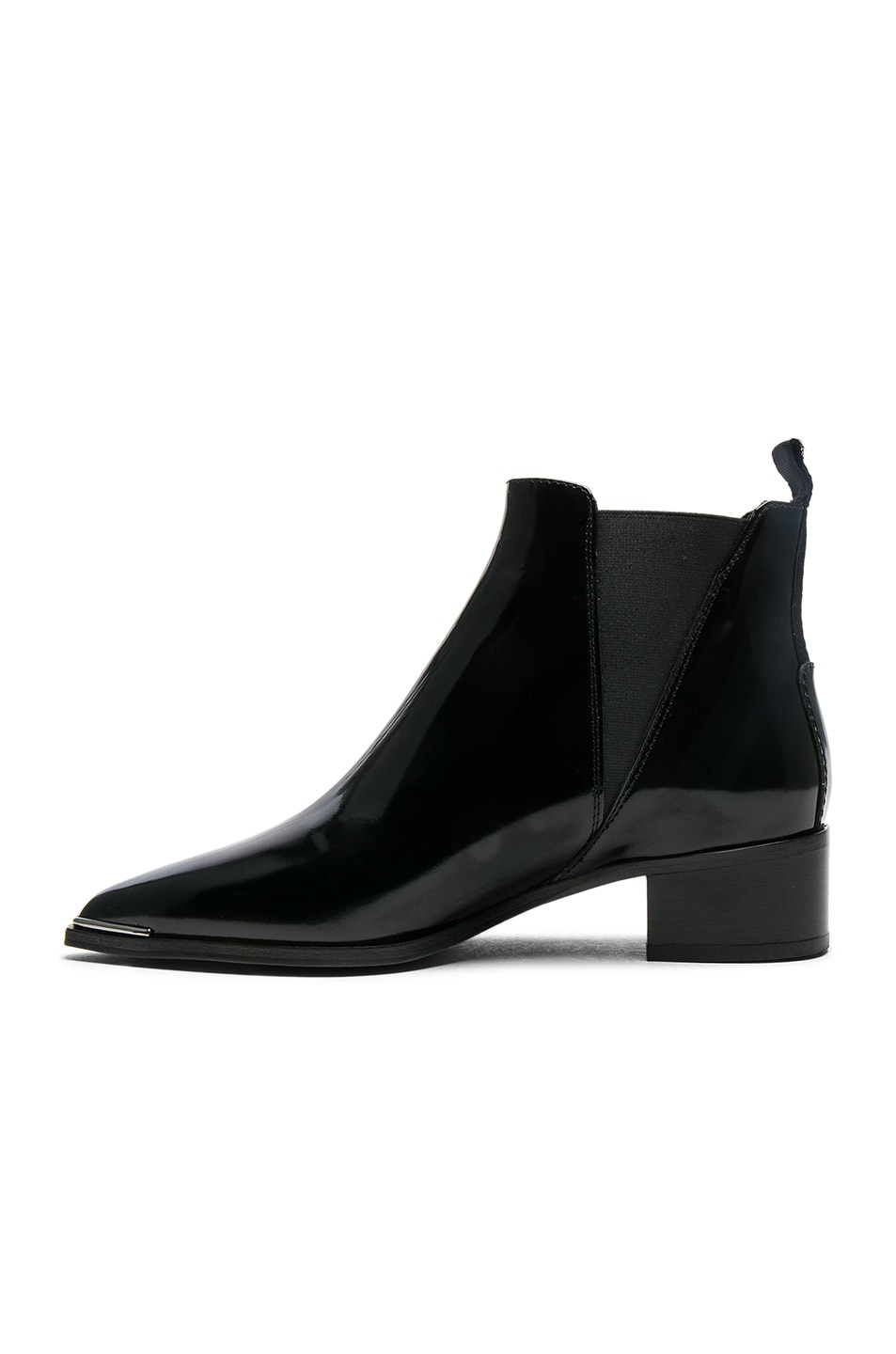 Acne Leather Jensen Brush off Booties in . XmEyxxb