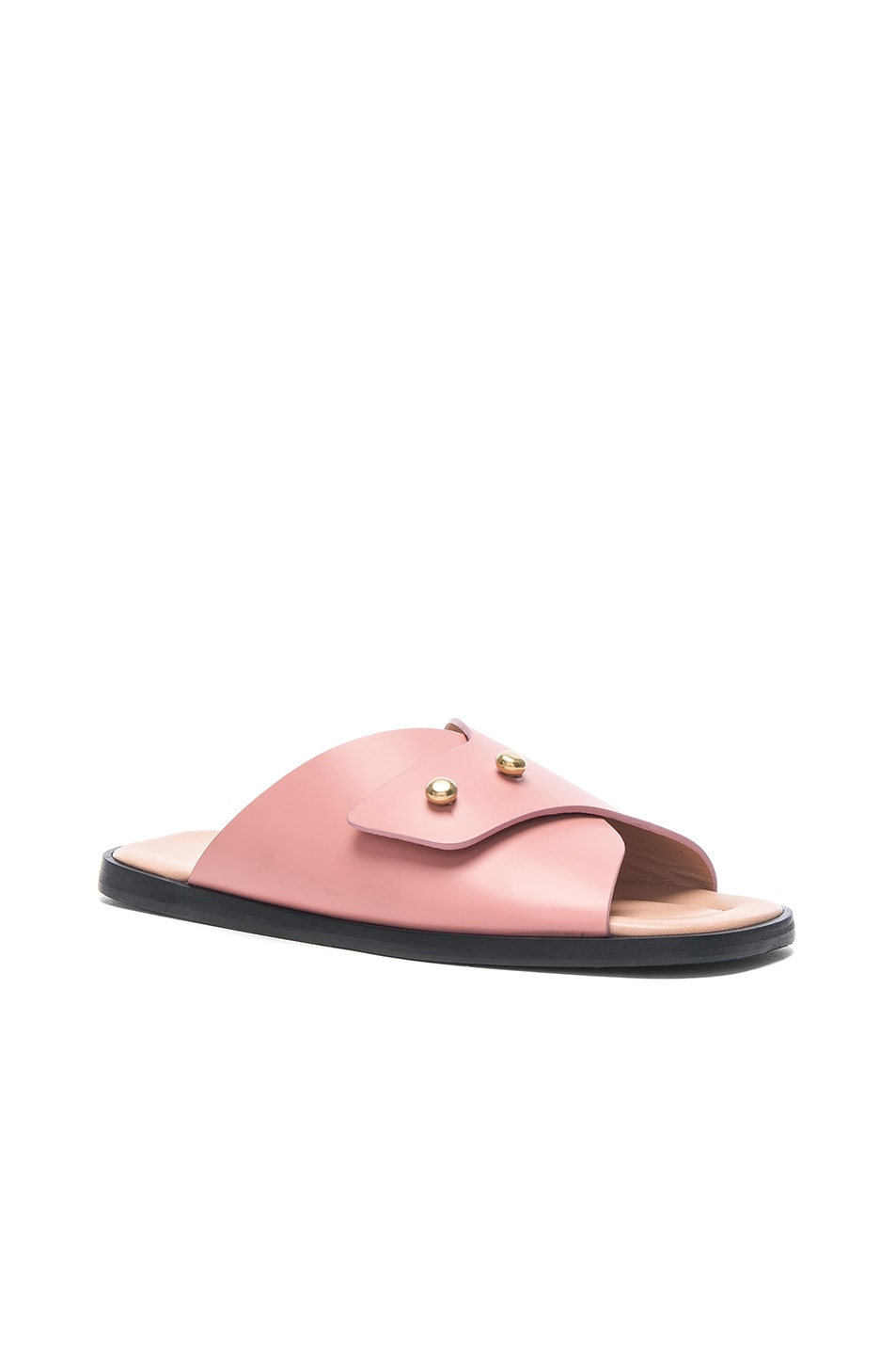 Acne Studios Pink Jilly Sandals 9AD53