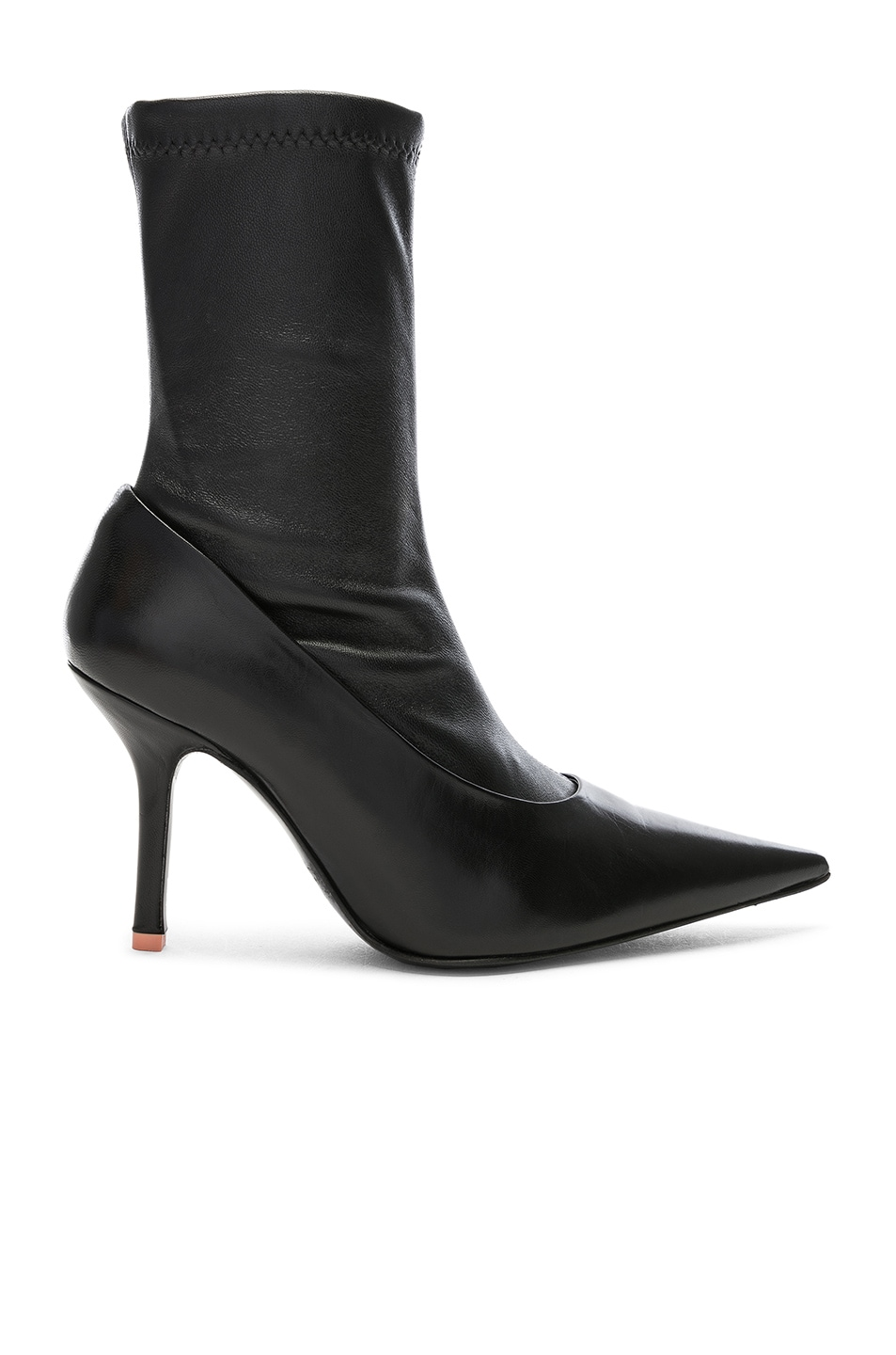 Image 1 of Acne Studios Leather Boots in Black