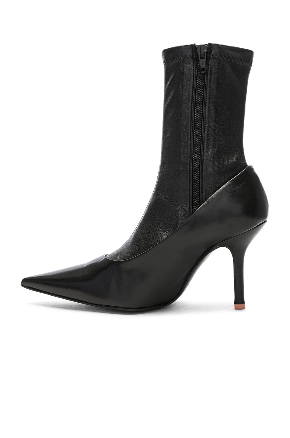 Image 5 of Acne Studios Leather Boots in Black
