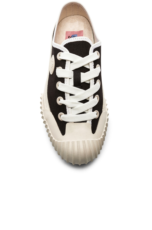 Image 4 of Acne Studios x Bla Konst Sneaker in Anthracite Grey