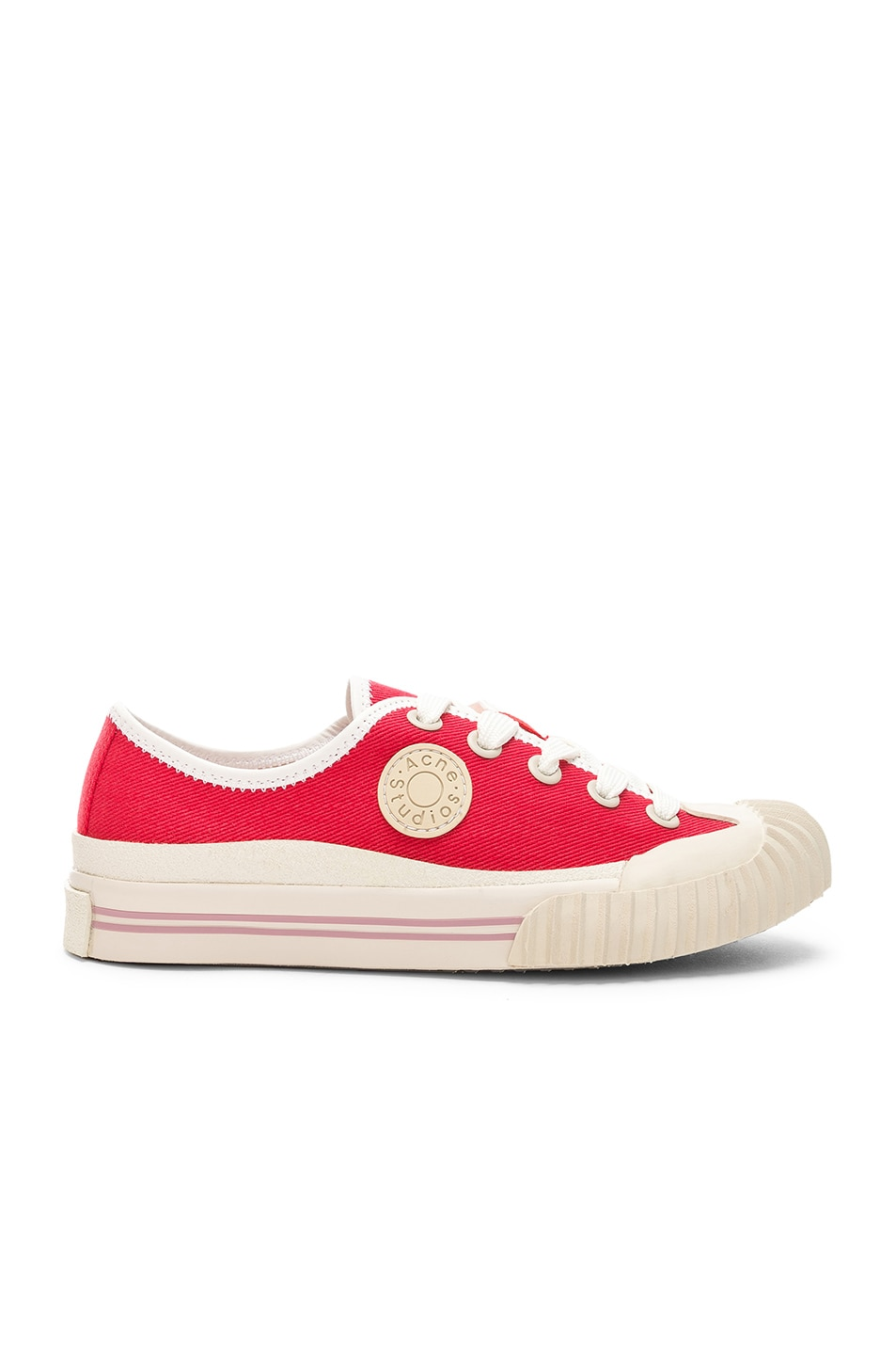 Image 1 of Acne Studios x Bla Konst Sneaker in Coral Red