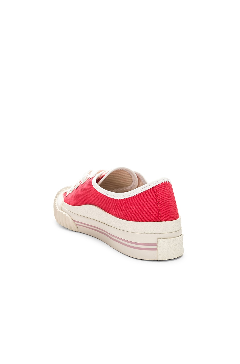 Image 3 of Acne Studios x Bla Konst Sneaker in Coral Red