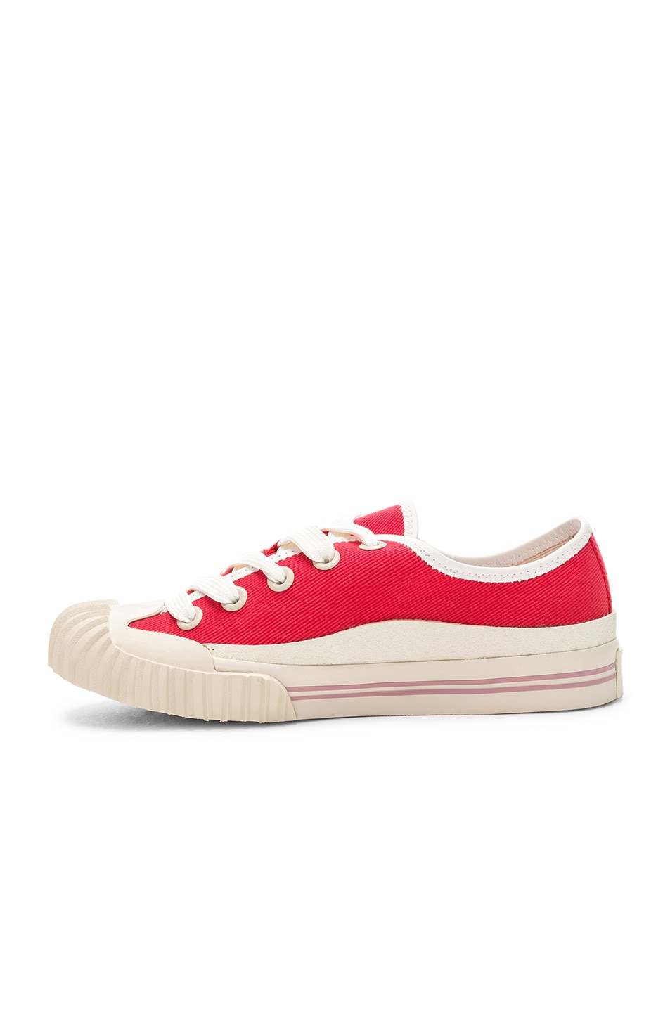 Image 5 of Acne Studios x Bla Konst Sneaker in Coral Red