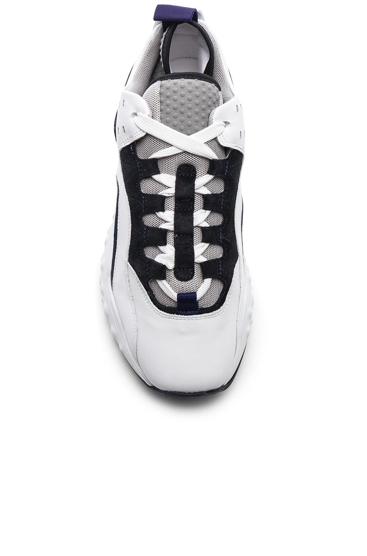 Image 4 of Acne Studios Manhattan Sneakers in Multi White