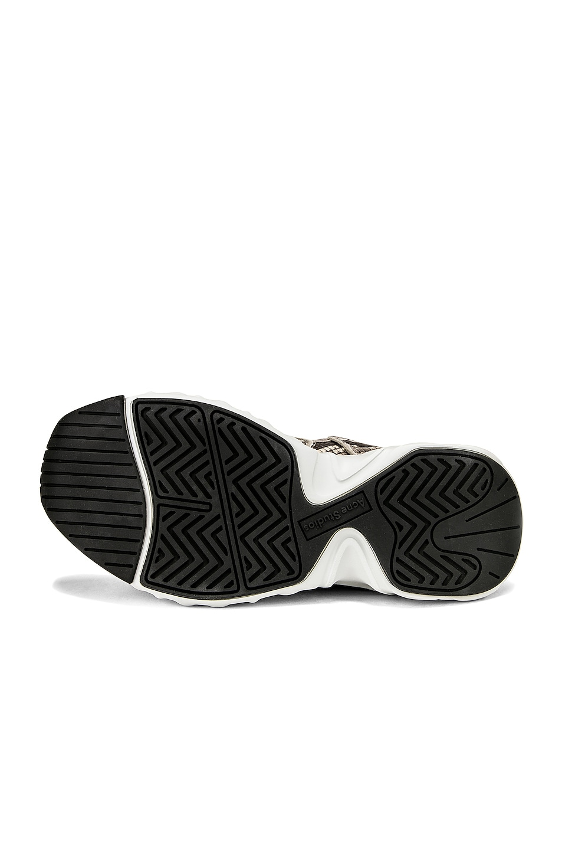 Image 6 of Acne Studios Manhattan Snake Sneakers in White