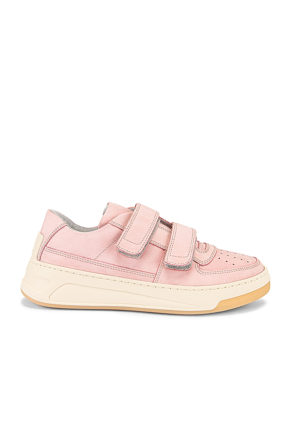 Image 1 of Acne Studios Steffey Nubuk Sneaker in Lilac & White