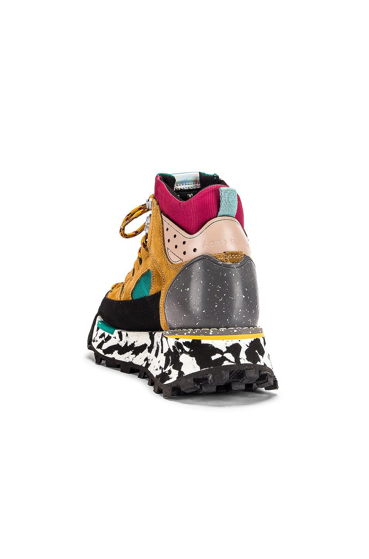 Image 3 of Acne Studios Bertrand Sneakers in Multi Brown
