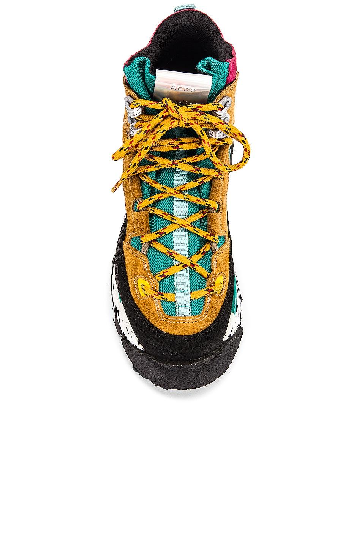 Image 4 of Acne Studios Bertrand Sneakers in Multi Brown