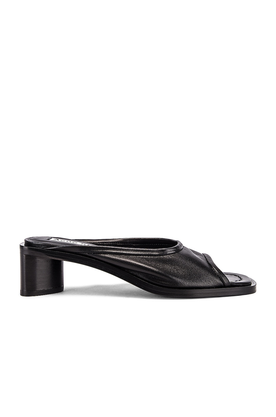 Image 1 of Acne Studios Chunky Mule in Black & Black