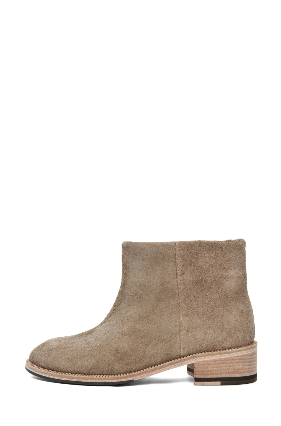 Image 1 of Acne Studios Paz Bootie in Dark Sand