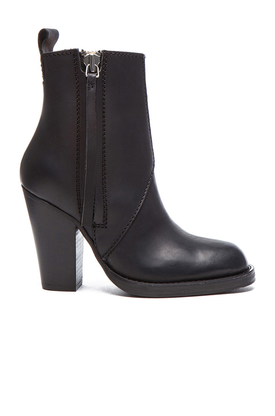 Image 1 of Acne Studios Colt Leather Booties in Black