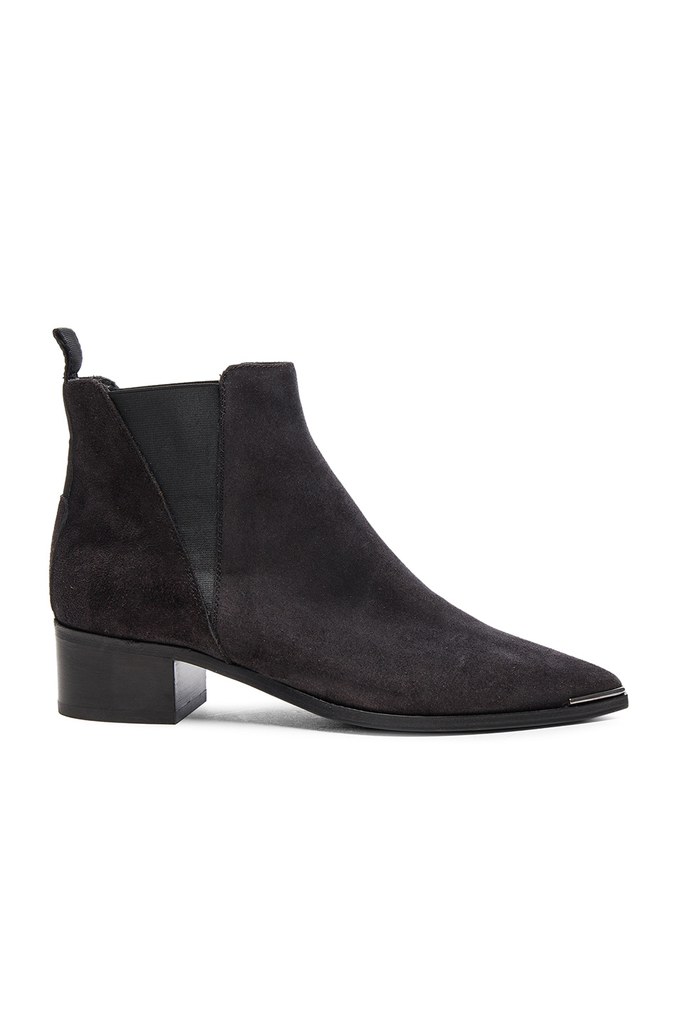 Image 1 of Acne Studios Suede Jensen Boots in Black