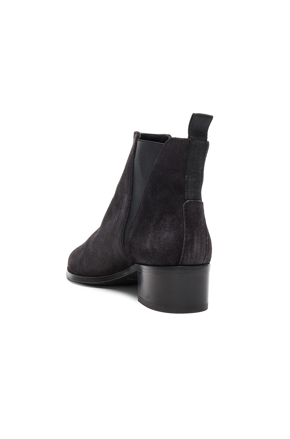 Image 3 of Acne Studios Suede Jensen Boots in Black
