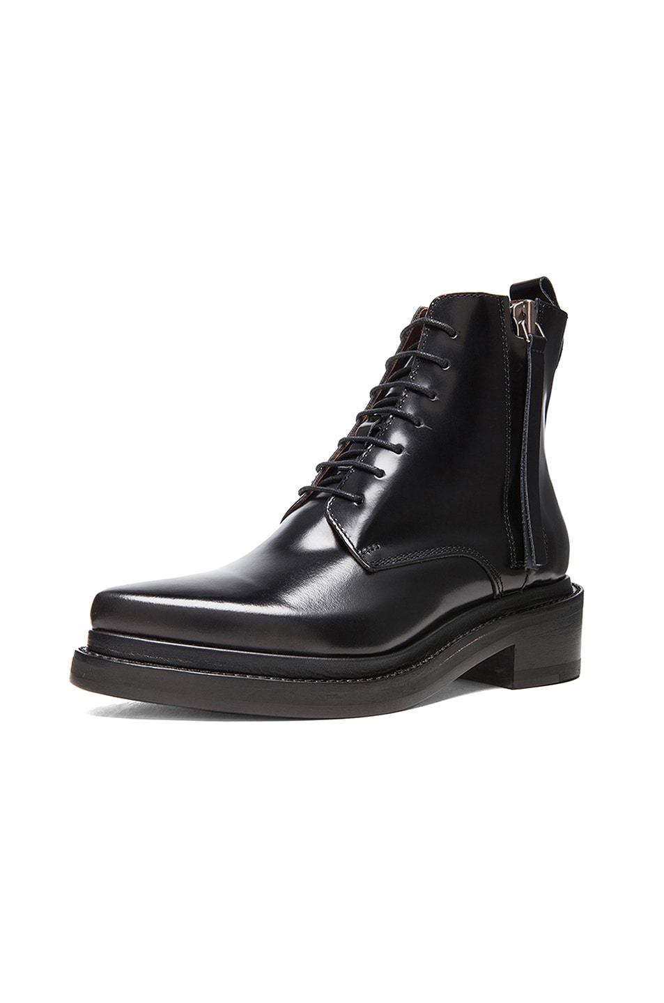 Image 2 of Acne Studios Linden Leather Boots in Black 0a85c1240a4