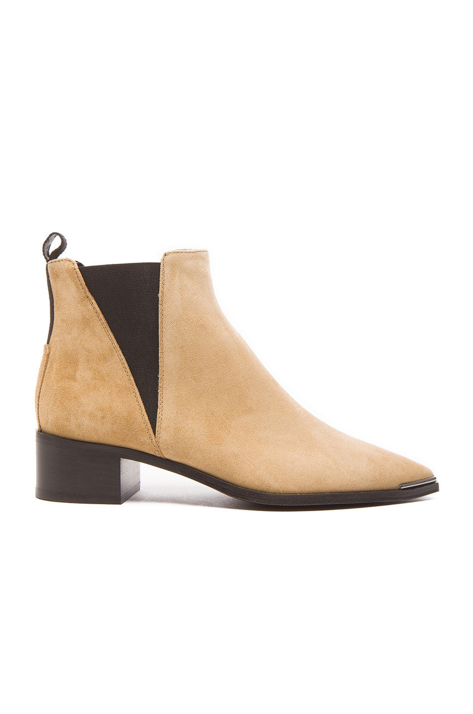 Image 1 of Acne Studios Jensen Suede Booties in Beige
