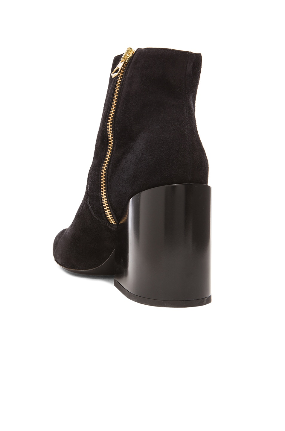 Image 3 of Acne Studios Angel Suede Boots in Black