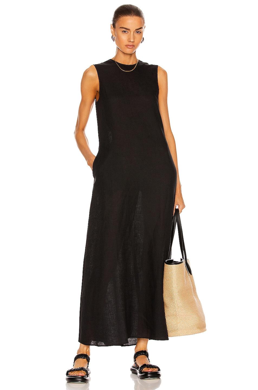 Image 1 of ASCENO The Tallin Dress in Black