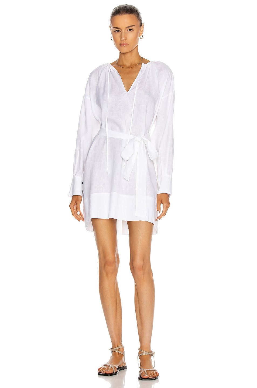 Image 1 of ASCENO The Santorini Dress in White