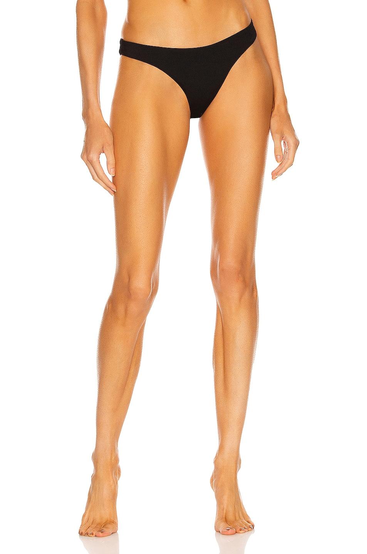 Image 1 of ASCENO The Naples Bikini Bottom in Black