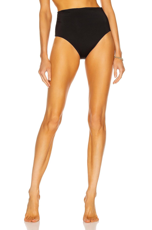 Image 1 of ASCENO The Deia Bikini Bottom in Black