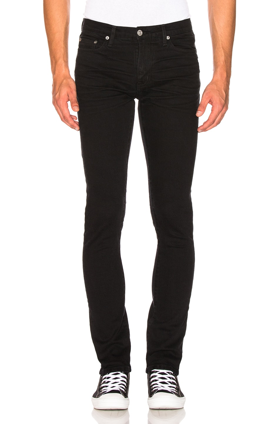 Image 1 of Adaptation Skinny Jeans in Onyx