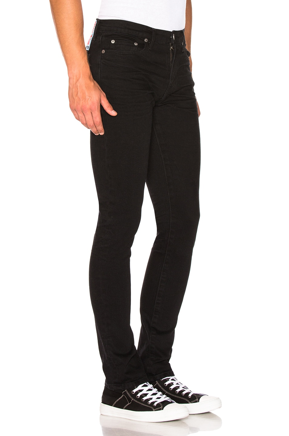 Image 2 of Adaptation Skinny Jeans in Onyx