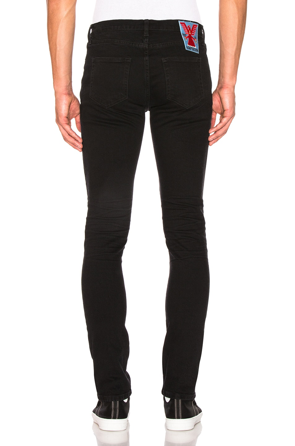 Image 3 of Adaptation Skinny Jeans in Onyx