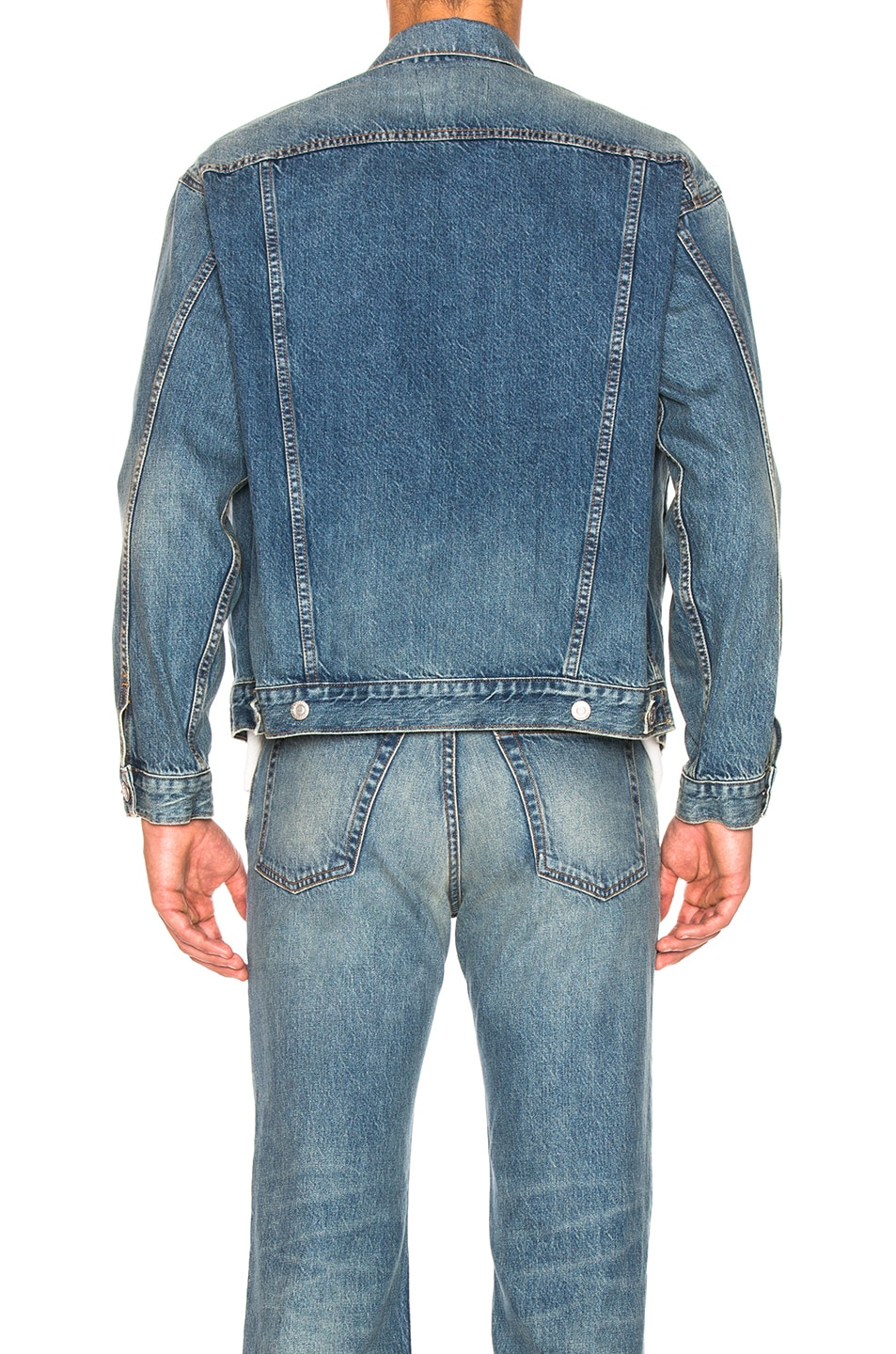 Image 3 of Adaptation Jean Jacket in Rider