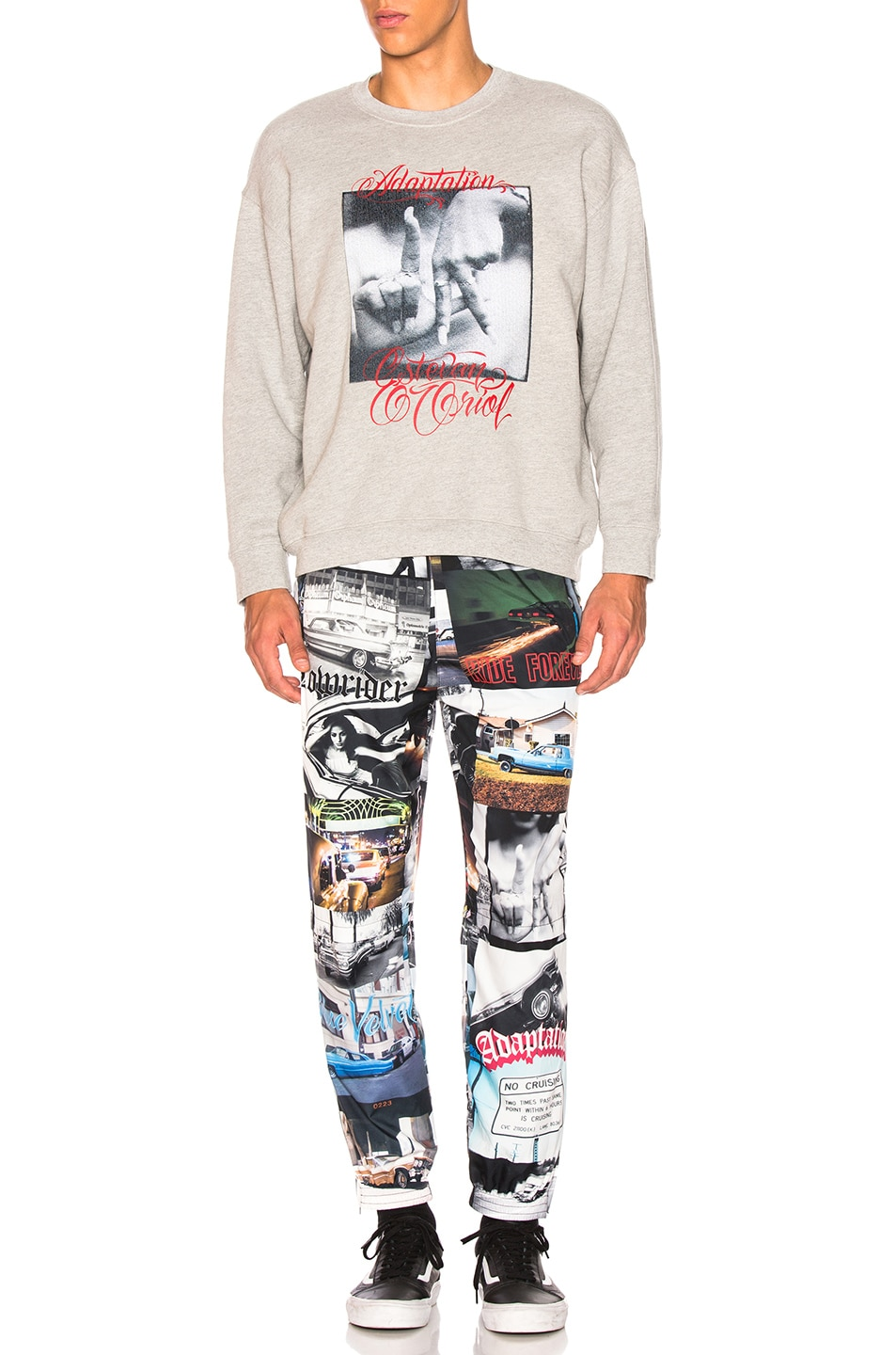 Image 5 of Adaptation Track Pants in Photo Print