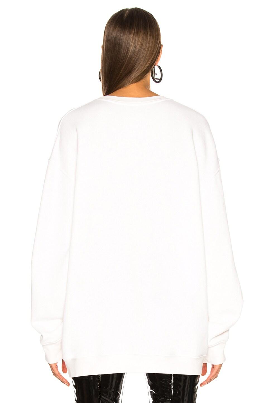 Image 4 of Adaptation Angel Baby LA Sweatshirt in Flat White