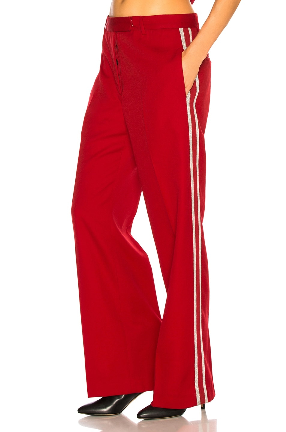 Image 1 of Adaptation Tailored Trouser Pant in Red