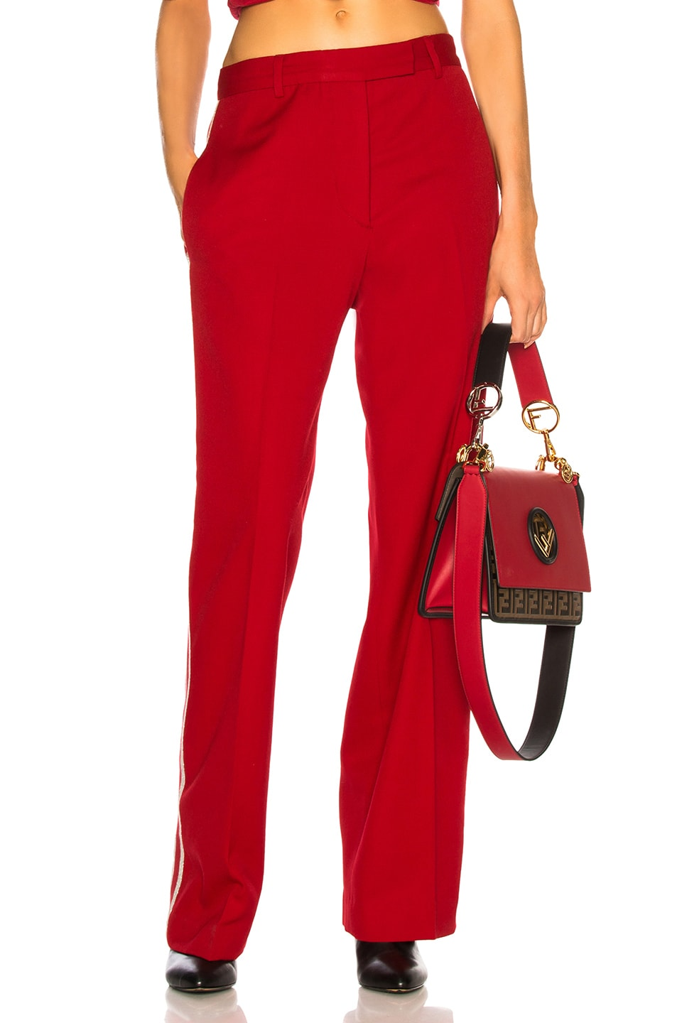 Image 2 of Adaptation Tailored Trouser Pant in Red