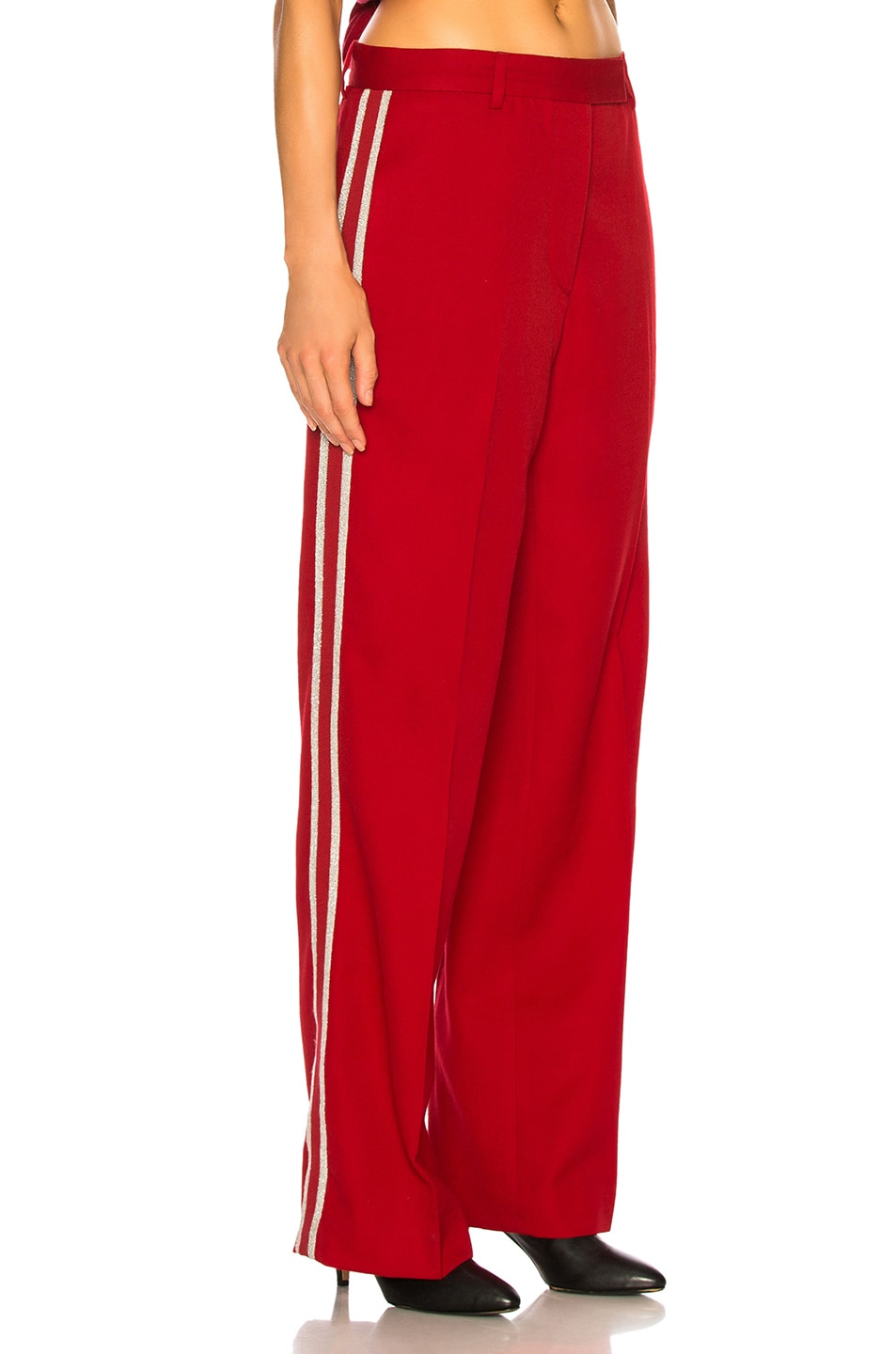 Image 3 of Adaptation Tailored Trouser Pant in Red
