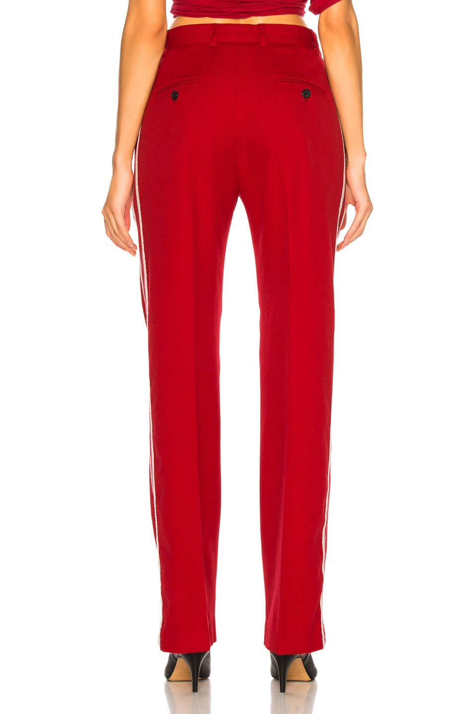 Image 4 of Adaptation Tailored Trouser Pant in Red
