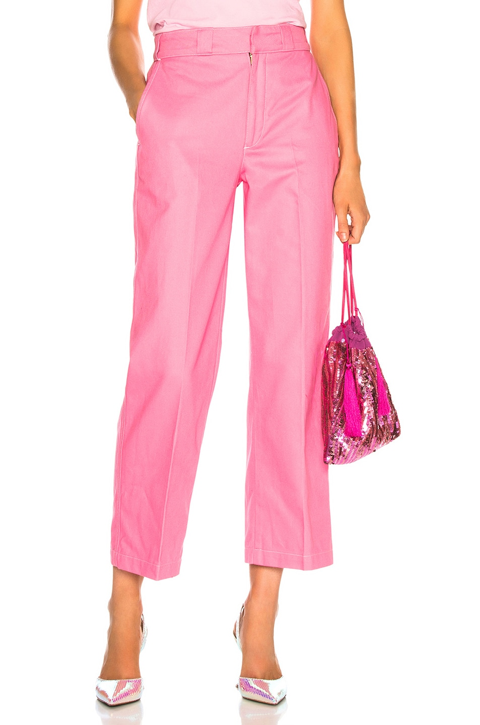 Image 1 of Adaptation Chino Pant in Candy Pink