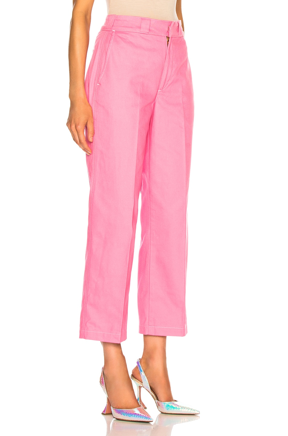 Image 2 of Adaptation Chino Pant in Candy Pink