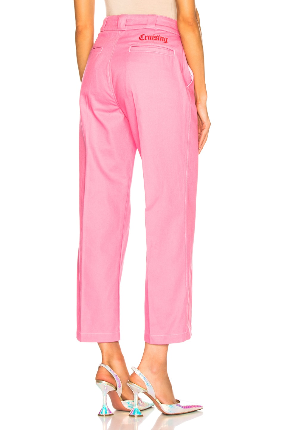 Image 3 of Adaptation Chino Pant in Candy Pink