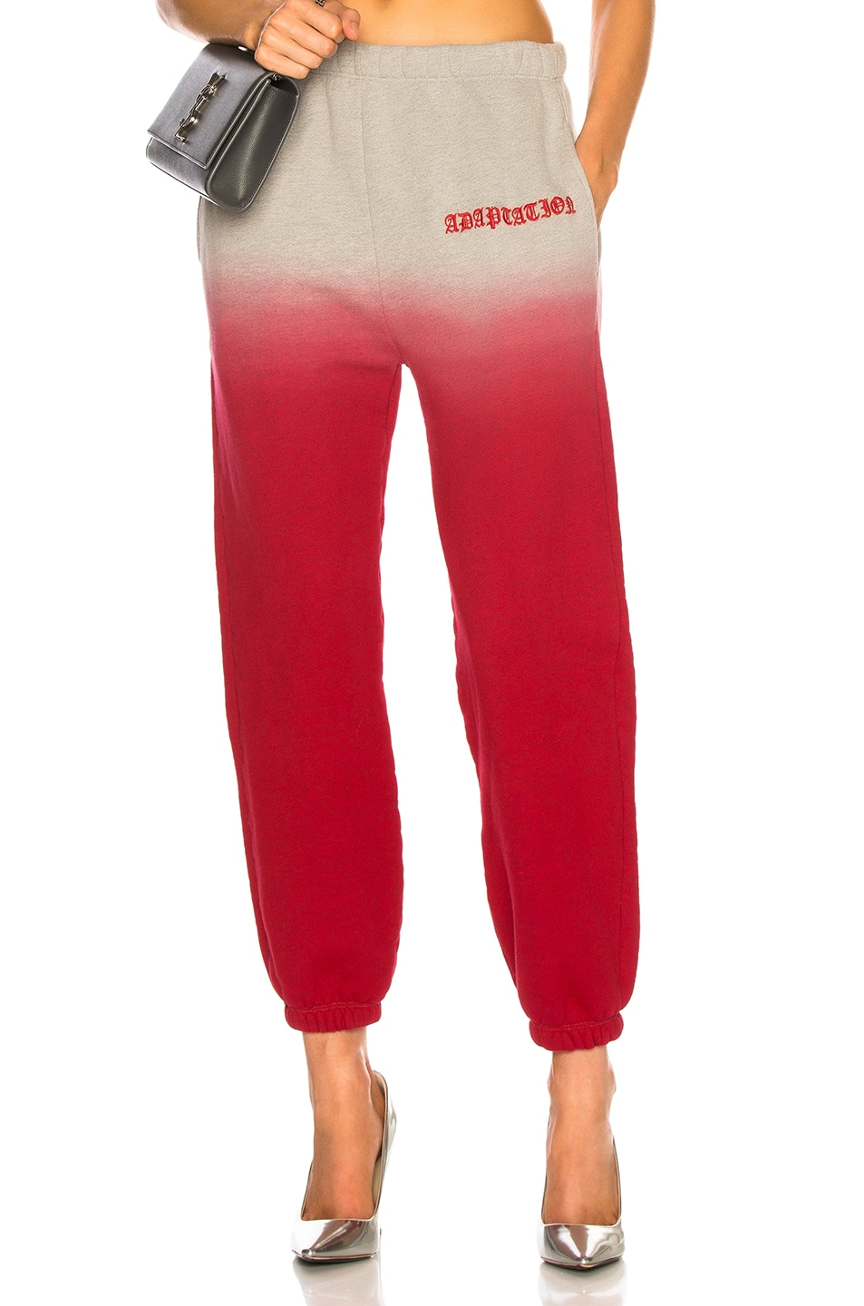 Image 1 of Adaptation Sweatpants in Heather & Red