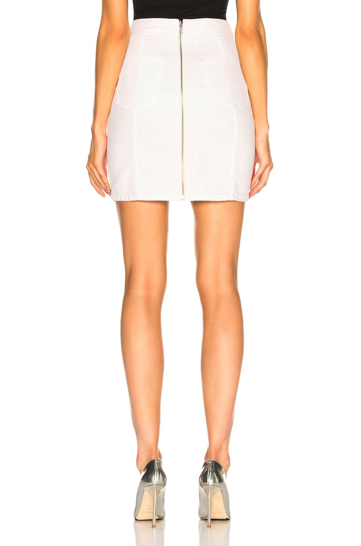 Image 3 of Adaptation Paneled Skirt in Flat White