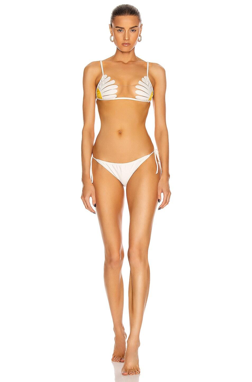 Image 1 of ADRIANA DEGREAS Daisy Bikini in White